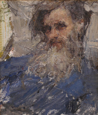 """Portrait of the artist's father"""