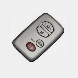 chìa Remote xe Camry 2010