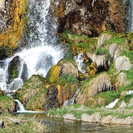 Rifle Falls, CO by Rob Bradshaw - Landscapes Waterscapes ( landscapes, waterfalls, waterscapes, rifle falls, colorado )