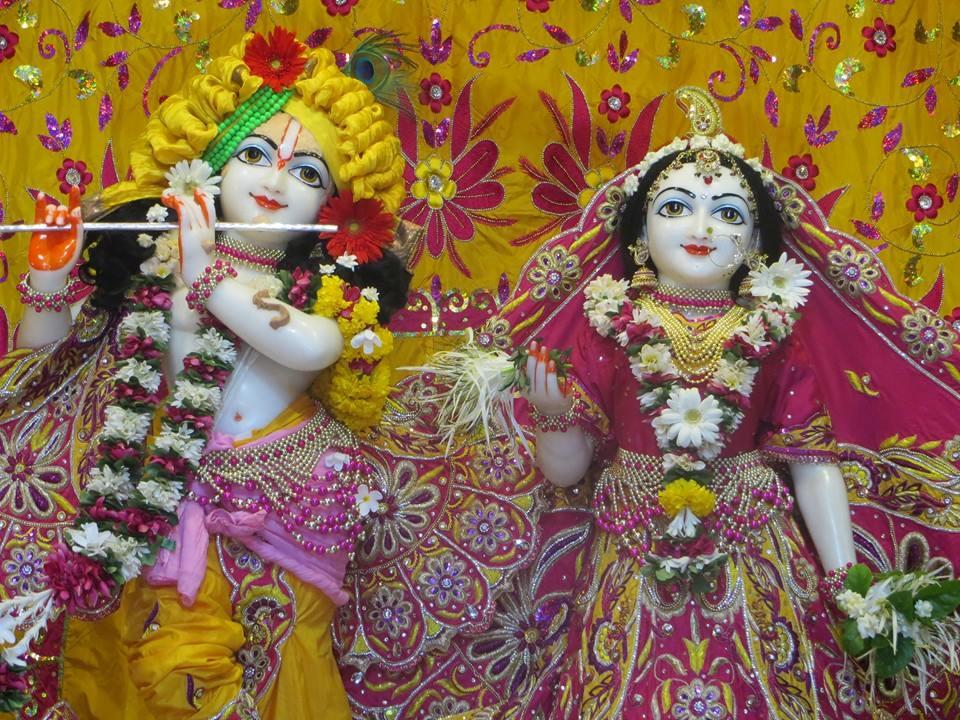 ISKCON Aravade Deity Darshan 17 May 2016 (1)