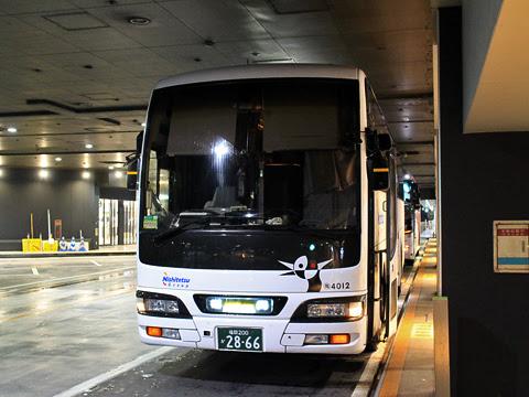 西鉄高速バス「桜島号」夜行便 4012 西鉄天神高速バスターミナル到着_01
