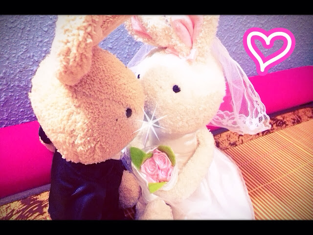 Le' Sucre Rabbit - Bride & Groom