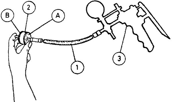 Проверка клапана поддержания разрежения демпфера дроссельной заслонки - второй тест