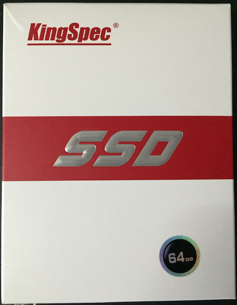 KingSpec SSD BOX