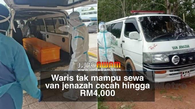 Waris tak mampu sewa van jenazah cecah hingga RM4,000