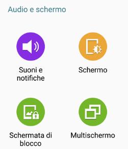 Icona Suono e Notifiche Android