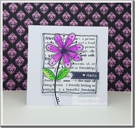 Julie Hickey Stamp Friendship Blooms 01 with watermark