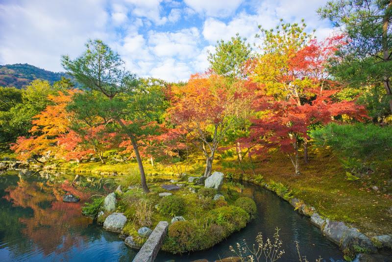 京都 紅葉 天竜寺 写真3