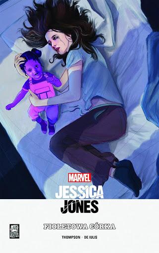 Jessica Jones Fioletowa córka okładka