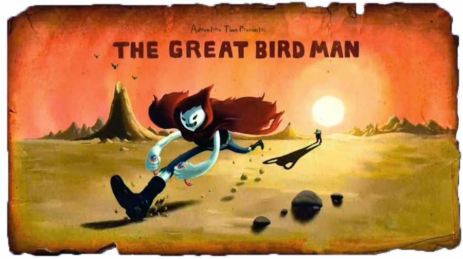 O grande homem pássaro