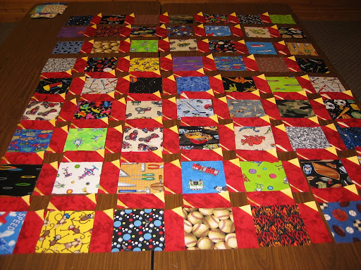 A quilt to be!