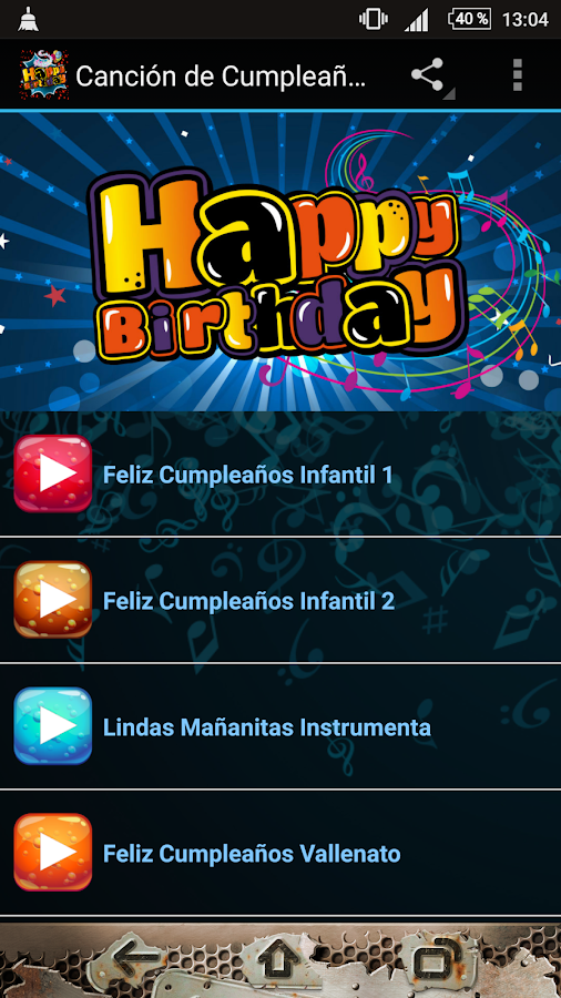 Birthday Song- screenshot