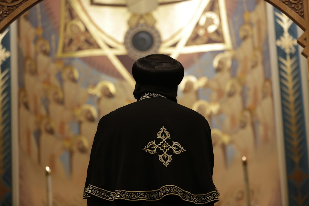 His Holiness Pope Tawadros II visit to St. Mark LA
