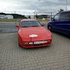 Startnummer 75 Porsche 944 1984