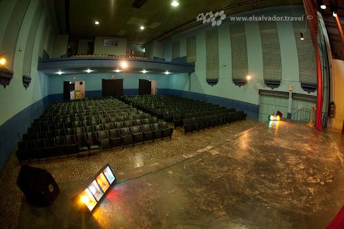 Teatro Cayaguanca, en Chalatenango.
