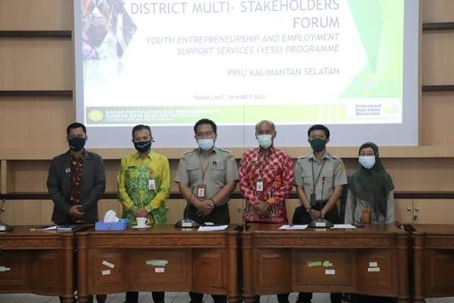 PPIU Kalsel Adakan DMSF YESS Programme di Tanah Laut