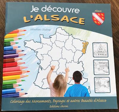cahier coloriage Alsace
