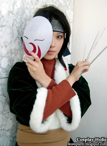naruto cosplay - haku 3