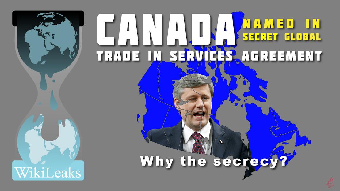 Stephen Harper and WikiLeaks