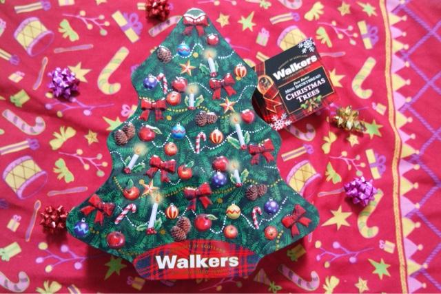 Walkers Christmas Shortbread