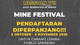 PENDAFTARAN DIPERPANJANG HINGGA 5 NOVEMBER (MISSION VII HMTP UNSYIAH)