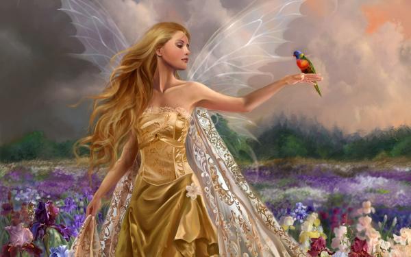 Flying Chick Lady, Beautiful Magic Girls 1