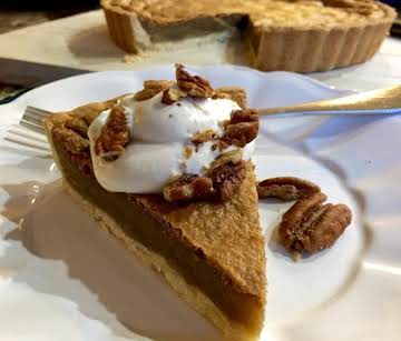 Southern Maple-Bourbon Vanilla Bean Tart