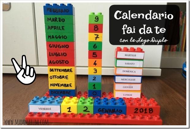 costruire calendario bambini