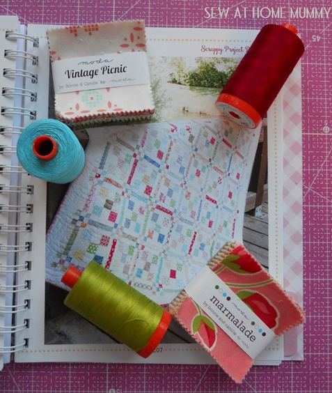 Scrappy Planner Project Checkerboard Quilt Sew At Home Mummy