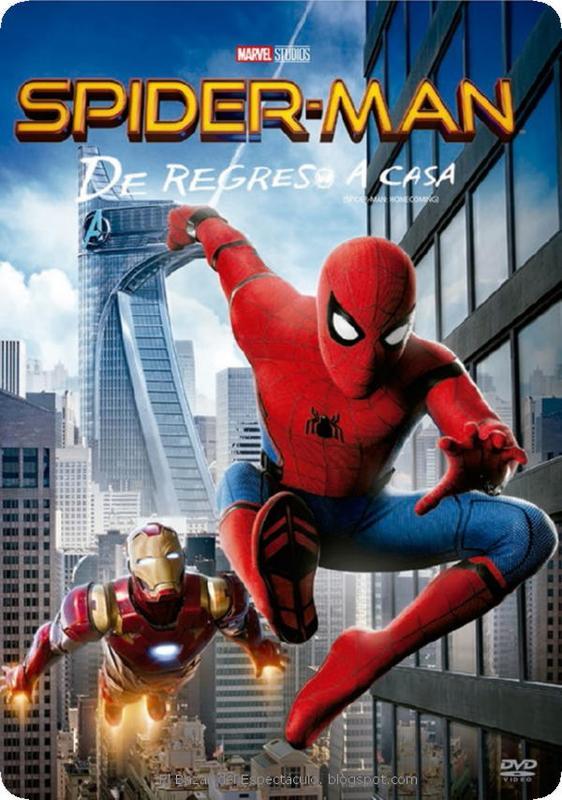 Tapa Spiderman - De regreso a casa DVD.jpeg