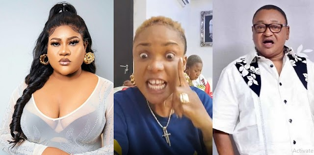'I will Embarrass This Man' – Nkechi Blessing Blasts Jide Kosoko over her suspension for Siding Iyabo Ojo