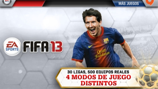 FIFA 13 para iPhone, iPod y iPad