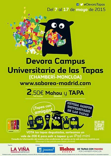 Ruta Devora Campus Universitario, del 7 al 17 de mayo 2015