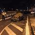 Motorista avança cruzamento em João Pessoa, capota e abandona carro após acidente