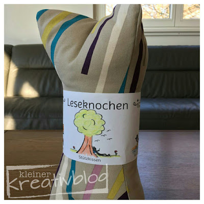 http://www.kleiner-kreativblog.de Leseknochen