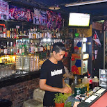 Brickyard bar in Kaohsing, Taiwan in Kaohsiung, Kao-hsiung city, Taiwan