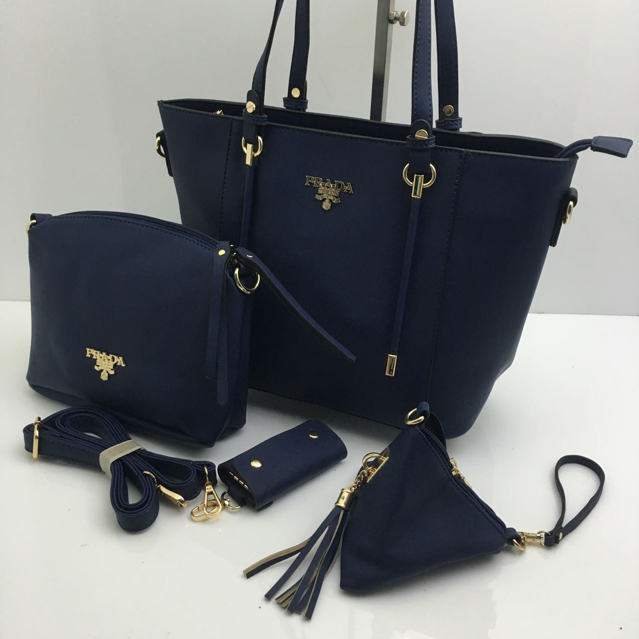 6b32a2a2b807 ... switzerland branded products prada bags 4 set combo 5 colours 8c8b3  23b01 ...
