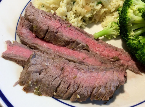Mexican Broiled Steak Recipe