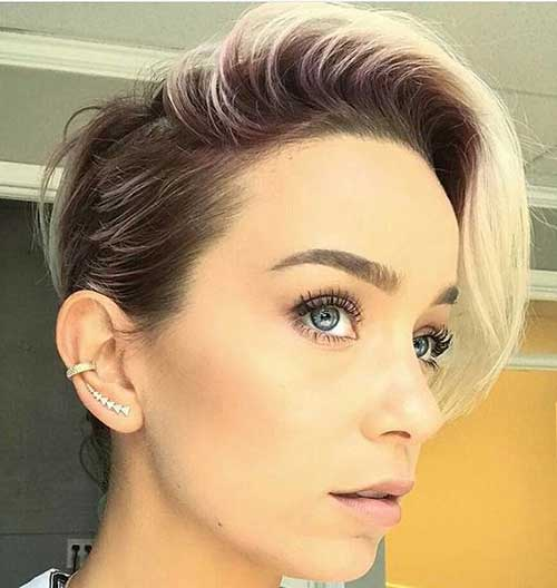 Top 30 Edgy Short Hairstyles And Cuts 2018