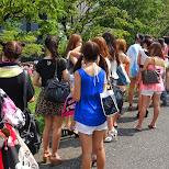 lineup out Shibuya AX for Love Sunshine in Shibuya, Tokyo, Japan
