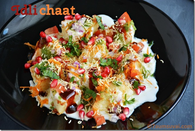 Idli chaat
