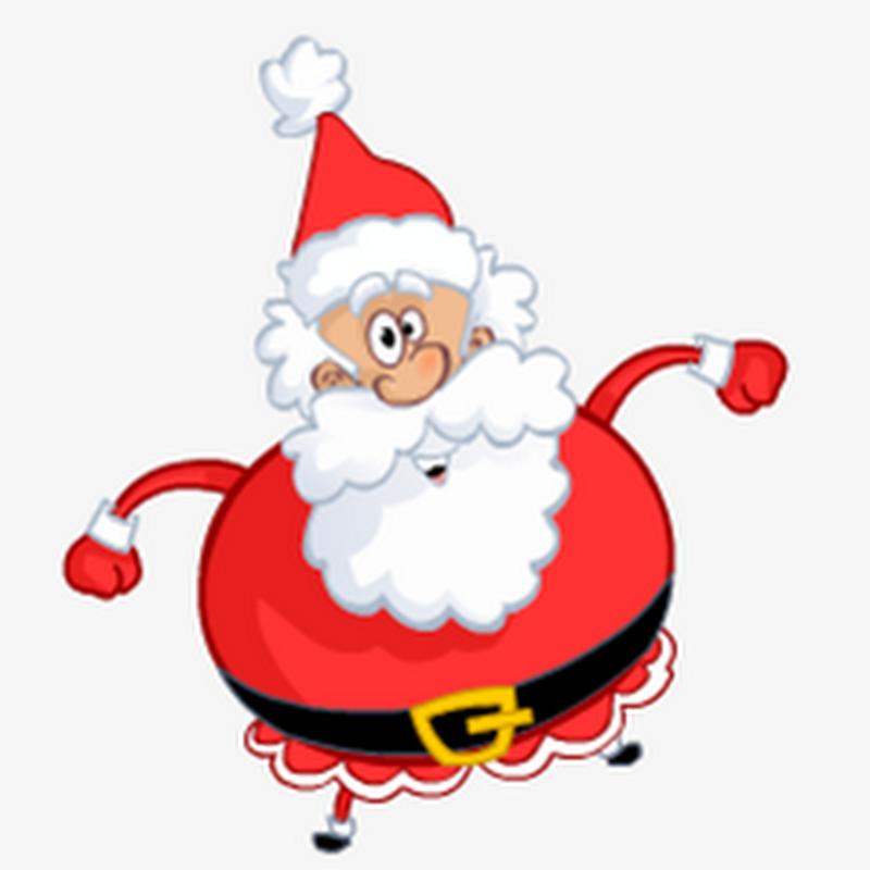 Танцующий дед Мороз Gif