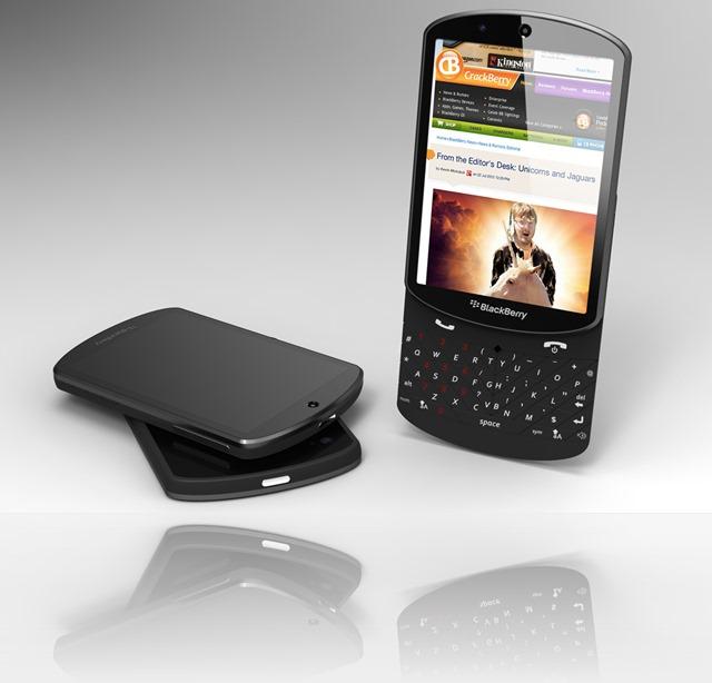 Концепт смартфона BlackBerry