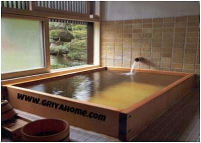 Bathub Jepang Onsen