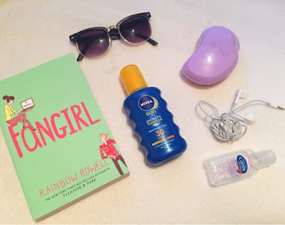 Beach day essentials