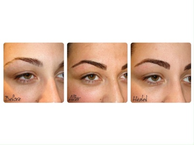 Semi-Permanent Hair Stroke Eyebrows