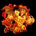 Dragón Fuego Corrupto   Corrupted Fire Dragon