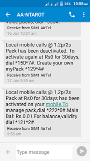 Active airtel 1.2p/2s for free