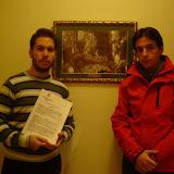 Firma contrato Hdad. Quinta Angustia