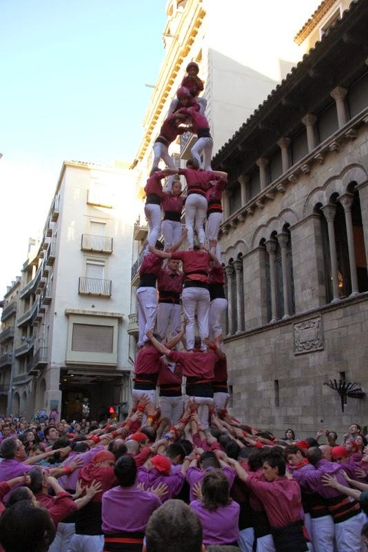 19è Aniversari Castellers de Lleida. Paeria . 5-04-14 - IMG_9531.JPG